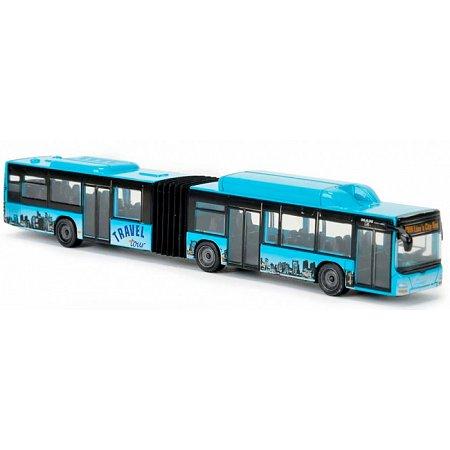 MAN Lion's (голубой), городской транспорт, 20 см, Majorette, 205 3303-2