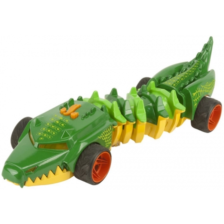 Машина-мутант Commander Croc 32 см (свет, звук), Hot Wheels, Toy State, 90731