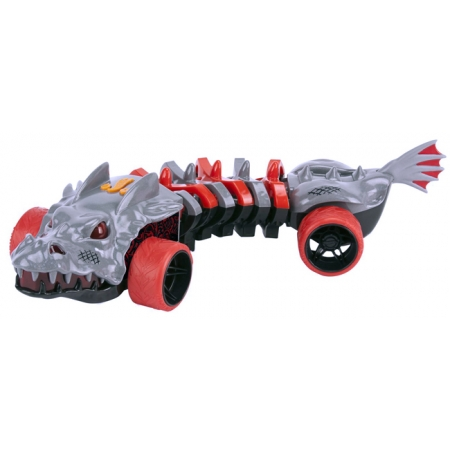 Машина-мутант Skullface 32 см (свет, звук), Hot Wheels, Toy State, 90732
