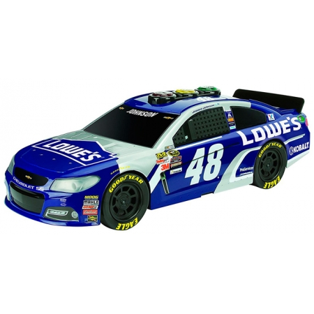 Машина NASCAR 2016 Jimmie Johnson Lowe's Chevrolet (свет, звук) 33 см, Road Rippers, Toy State, 33633