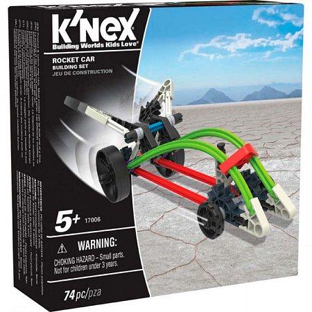 Машина-ракета (74 детали), набор для конструирования, K`nex, 17006