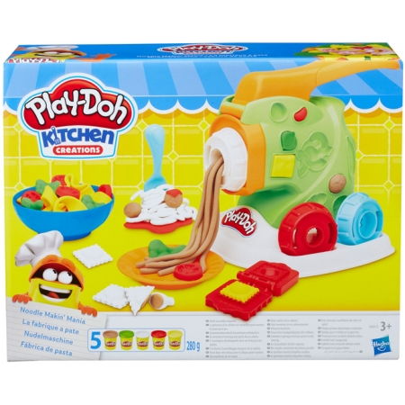 Машинка для лапши, набор с пластилином, Kitchen Creations, Play-Doh, B9013