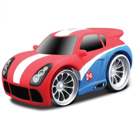 Машинка на ИК-управлении Squeeze & Go SG01, Maisto 81196 red/blue MAISTO