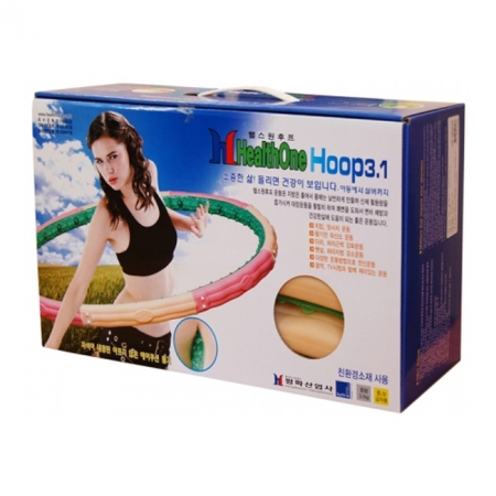 Массажный обруч HealthOne 3.1 kg Health Hoop Хулахуп