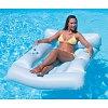 Матрас-кресло надувное пляжное, Bestway 43039 (183x110 см), белый