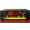 Mercedes BENZ автомобиль на радиоуправлении 1:24, MZ Meizhi, червоний, 27046-1