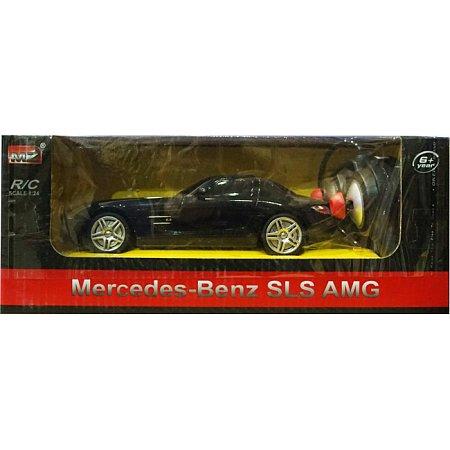 Mercedes BENZ автомобиль на радиоуправлении 1:24, MZ Meizhi, чорний, 27046-3