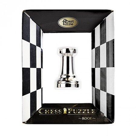 Металлическая головоломка Ладья, Chess Puzzles Rook