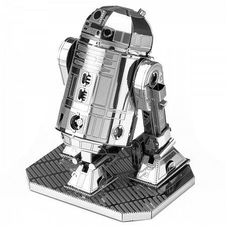 Металлическая сборная 3D модель Астромеханический дроид R2-D2, Metal Earth (MMS250)