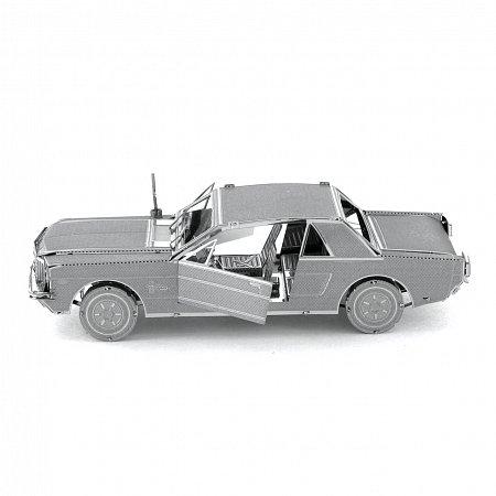 Металлическая сборная 3D модель Автомобиль 1965 Ford Mustang, Metal Earth (MMS056)