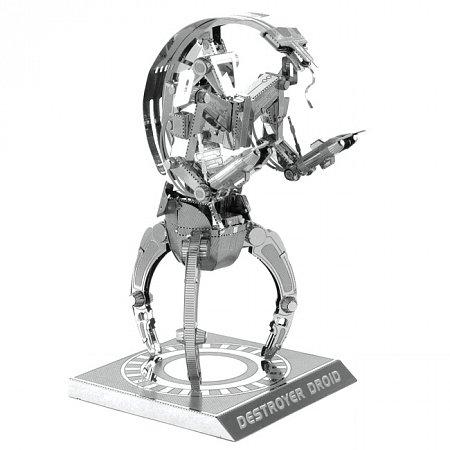 Металлическая сборная 3D модель Destroyer Droid, Metal Earth (MMS255)