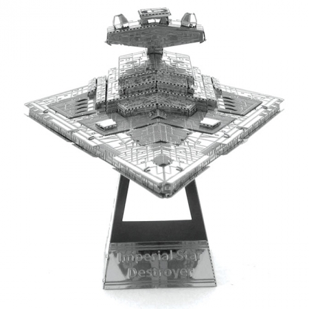 Металлическая сборная 3D модель Imperial Star Destroyer, Metal Earth (MMS254)