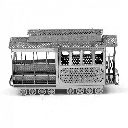 Металлическая сборная 3D модель Кабельный трамвай Сан-Франциско, Metal Earth (MMS002)