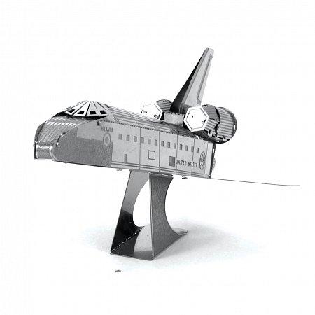 Металлическая сборная 3D модель Космический шаттл Discovery, Metal Earth (MMS015D)