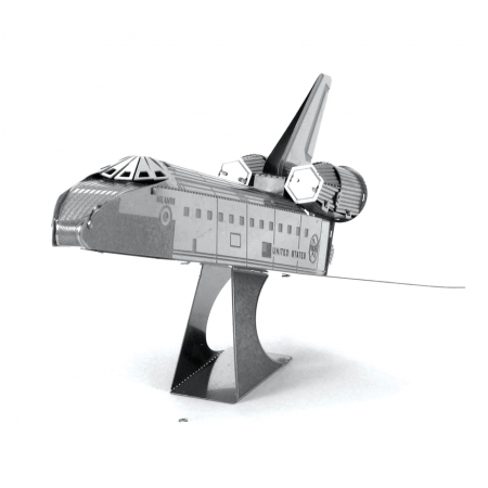 Металлическая сборная 3D модель Космический шаттл Endeavor, Metal Earth (MMS015E)