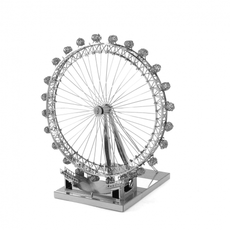 Металлическая сборная 3D модель London Eye, Metal Earth (ICX019)