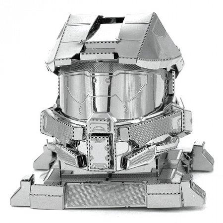 Металлическая сборная 3D модель Master Chief Helmet, Metal Earth (MMS290)