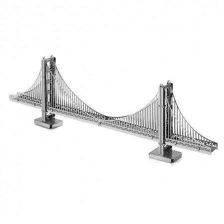Металлическая сборная 3D модель Мост Golden Gate, Metal Earth (MMS001)