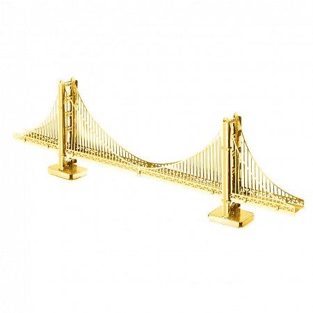 Металлическая сборная 3D модель Мост Golden Gate, Metal Earth (MMS001G)