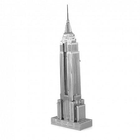 Металлическая сборная 3D модель Небоскреб Empire State Building, Metal Earth (ICX010)