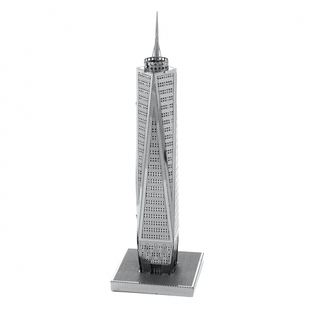 Металлическая сборная 3D модель Небоскреб One World Trade Center, Metal Earth (MMS024)
