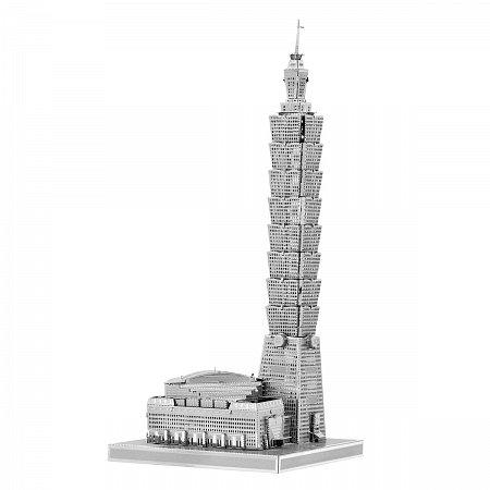 Металлическая сборная 3D модель Небоскреб Тайбэй 101, Metal Earth (ICX007)