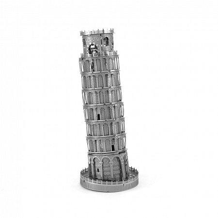 Металлическая сборная 3D модель Пизанская башня, Metal Earth (ICX015)