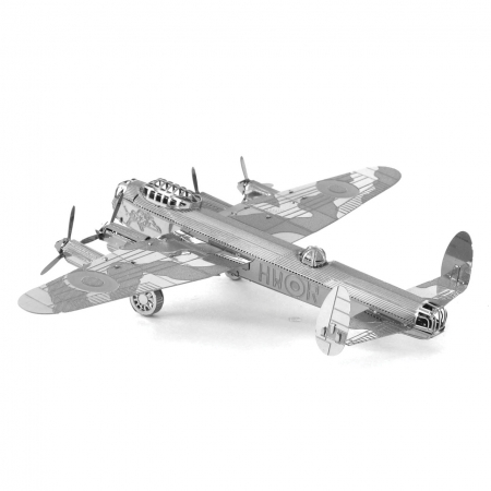Металлическая сборная 3D модель Самолет Avro Lancaster, Metal Earth (MMS067)