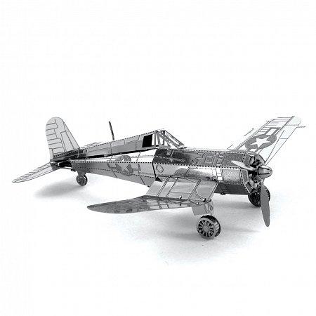 Металлическая сборная 3D модель Самолет F4U Corsair, Metal Earth (MMS035)