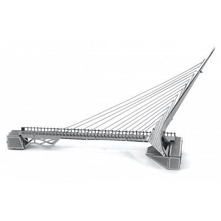 Металлическая сборная 3D модель SunDial Bridge, Metal Earth (MMS031)