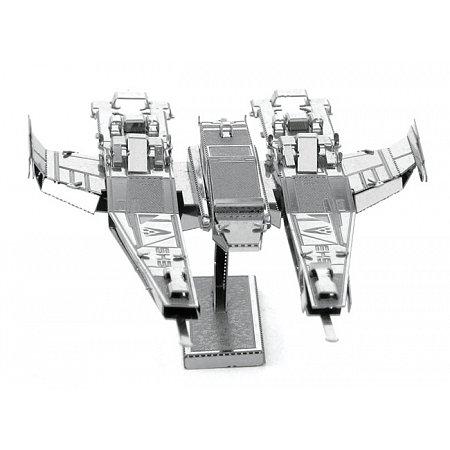 Металлическая сборная 3D модель SX3 Alliance Fighter, Metal Earth (MMS310)