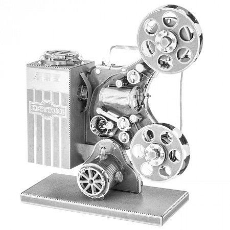 Металлическая сборная 3D модель Vintage Movie Projector, Metal Earth (MMS088)