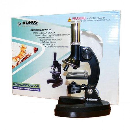 Микроскоп KONUS KONUSTUDY-2 (150x,450x,900x), 5016