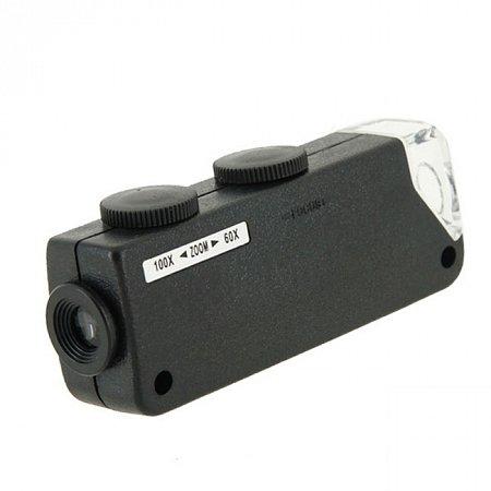 Микроскоп SIGETA Handheld 60x-100x, 100811