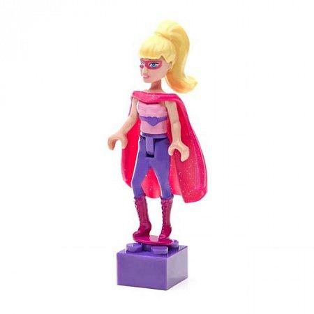 Мини-фигурка Superhero (Супергерой) Barbie, Mega Bloks, супер герой, CNF71-1