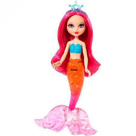 Мини-кукла Барби Русалочка с розовыми волосами, Barbie, Mattel, розовые волосы, CJD19-2