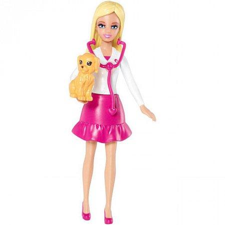 Мини-кукла Барби-ветеринар, серия Я могу быть, Barbie, Mattel, Ветеринар, CCH54-3