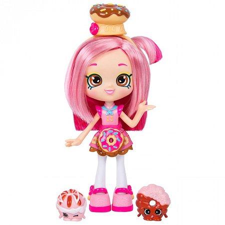 Мини-кукла Донатина с аксессуарами, 12 см, Shopkins Shoppies, 56301
