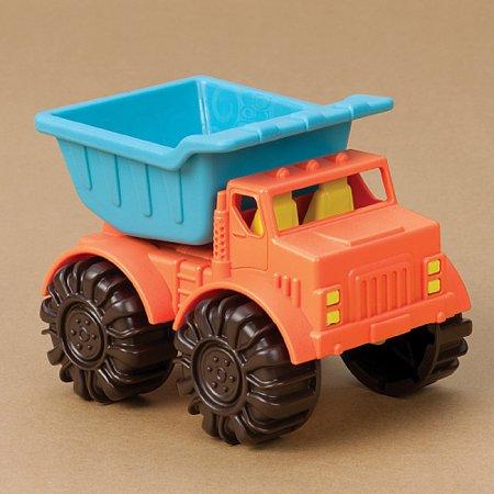 Мини самосвал (цвет папайя-морской), игрушка для игры с песком, Battat, BX1439Z