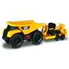 Мини-трейлер Самосвал и прицеп с двуковшовым экскаватором 28 см, САТ, Toy State, 34763