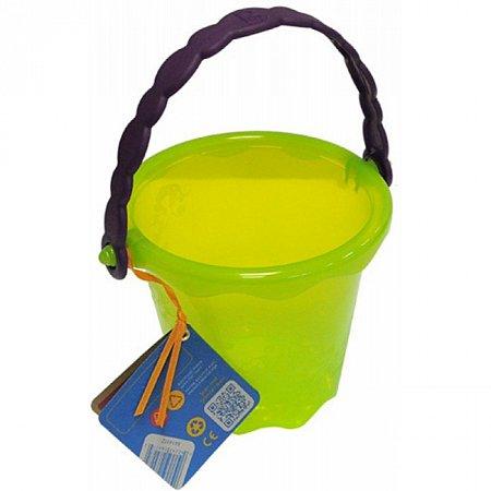 Мини-ведерце (цвет лаймовый), игрушка для игры с песком и водой, Battat (BX1437Z)