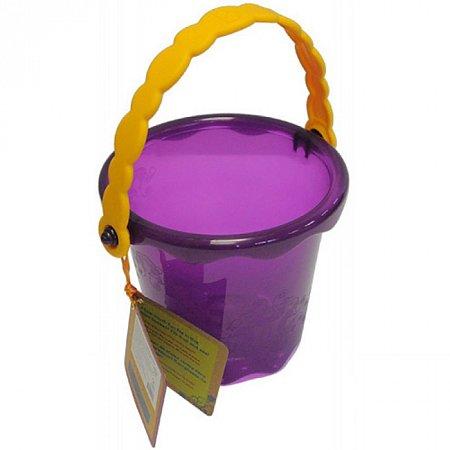 Мини-ведерце (цвет сливовый), игрушка для игры с песком и водой, Battat (BX1435Z)