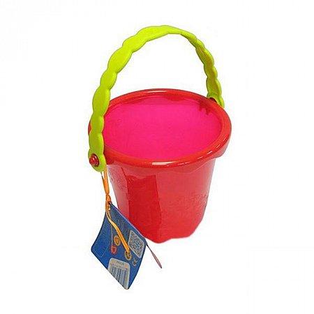 Мини-ведерце (цвет томатный), игрушка для игры с песком и водой, Battat (BX1436Z)