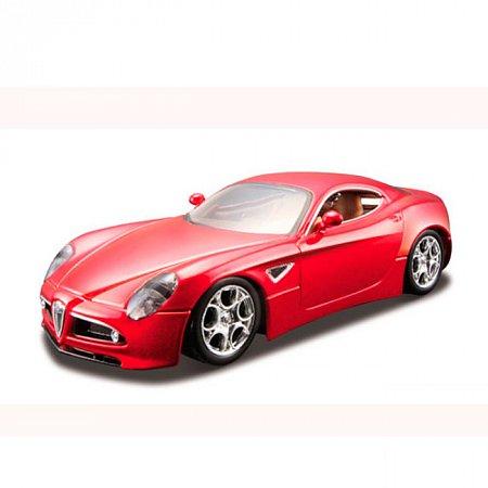 Модель - Alfa 8C Competizione (красный металлик) 1:32, Bburago, 18-43004-1