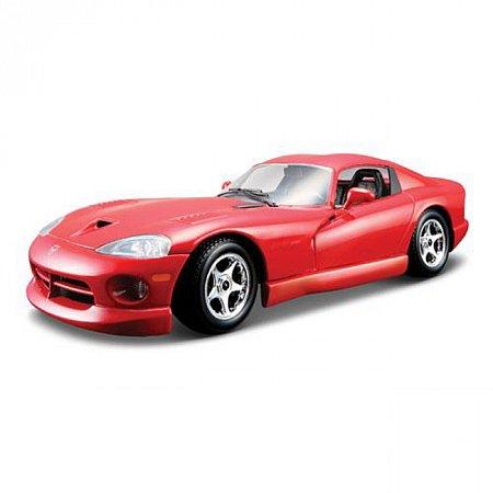 Модель автомобиля Dodge Viper GTS Coupe, 1:24, Bburago, красный (18-22048-1)