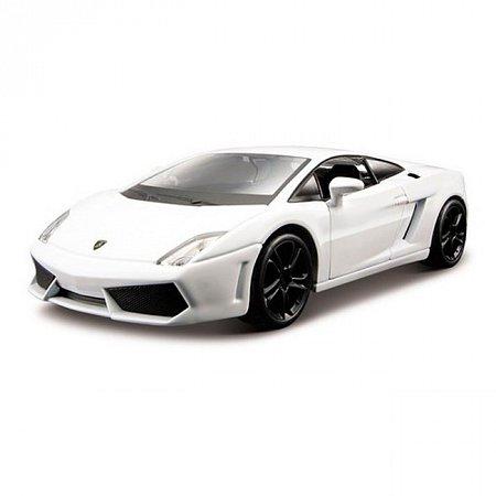Модель - Lamborghini Gallardo LP560-4 2008 (белый) 1:32, Bburago, 18-43020-1