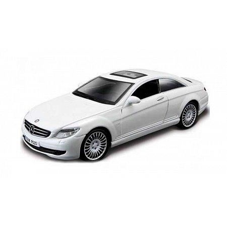 Модель - Mercedes Benz CL-550 (белый) 1:32, Bburago, 18-43032-1
