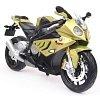 Модель мотоцикла (1:12) BMW S1000RR (зеленый матовый), Maisto 31101-7
