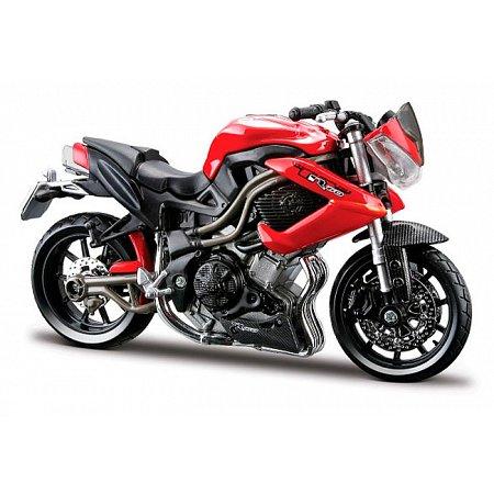 Модель мотоцикла Benelli TNT R 160 (красный), 1:18, Bburago, 18-51030-17