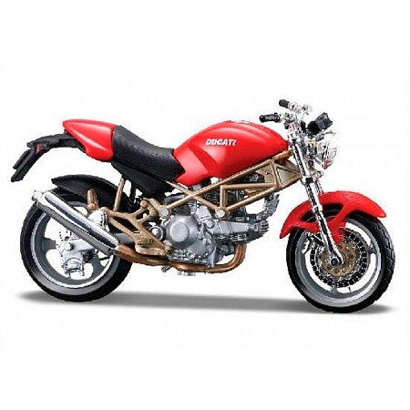 Модель мотоцикла Ducati Monster 900 (красный), 1:18, Bburago, 18-51030-11